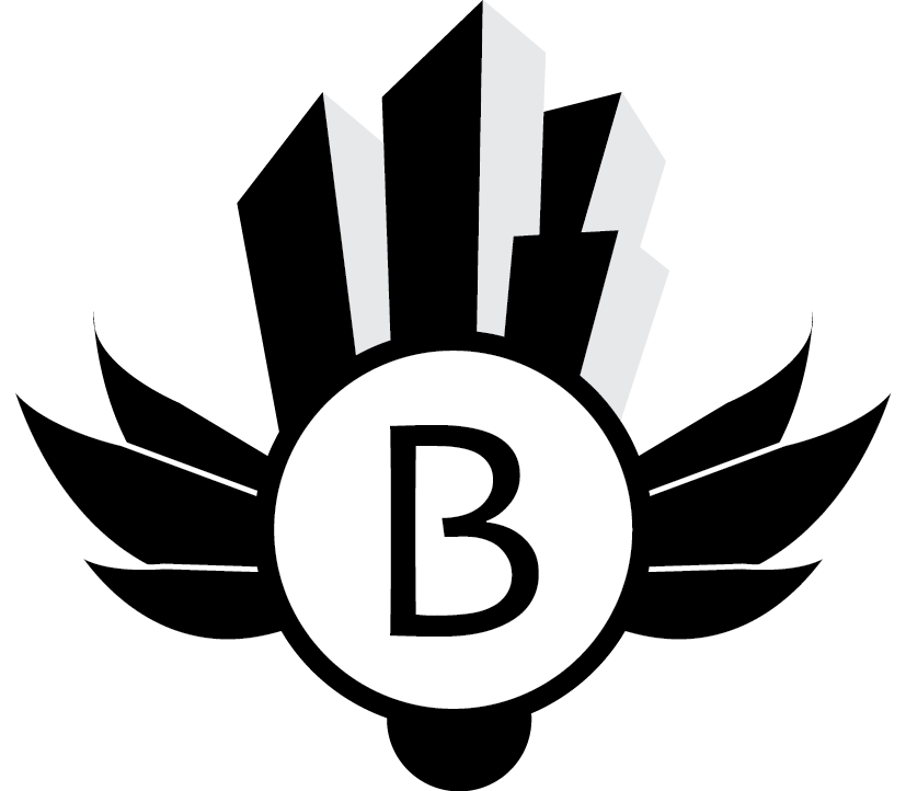 Bohrstad - In-game logo for a fictional city.