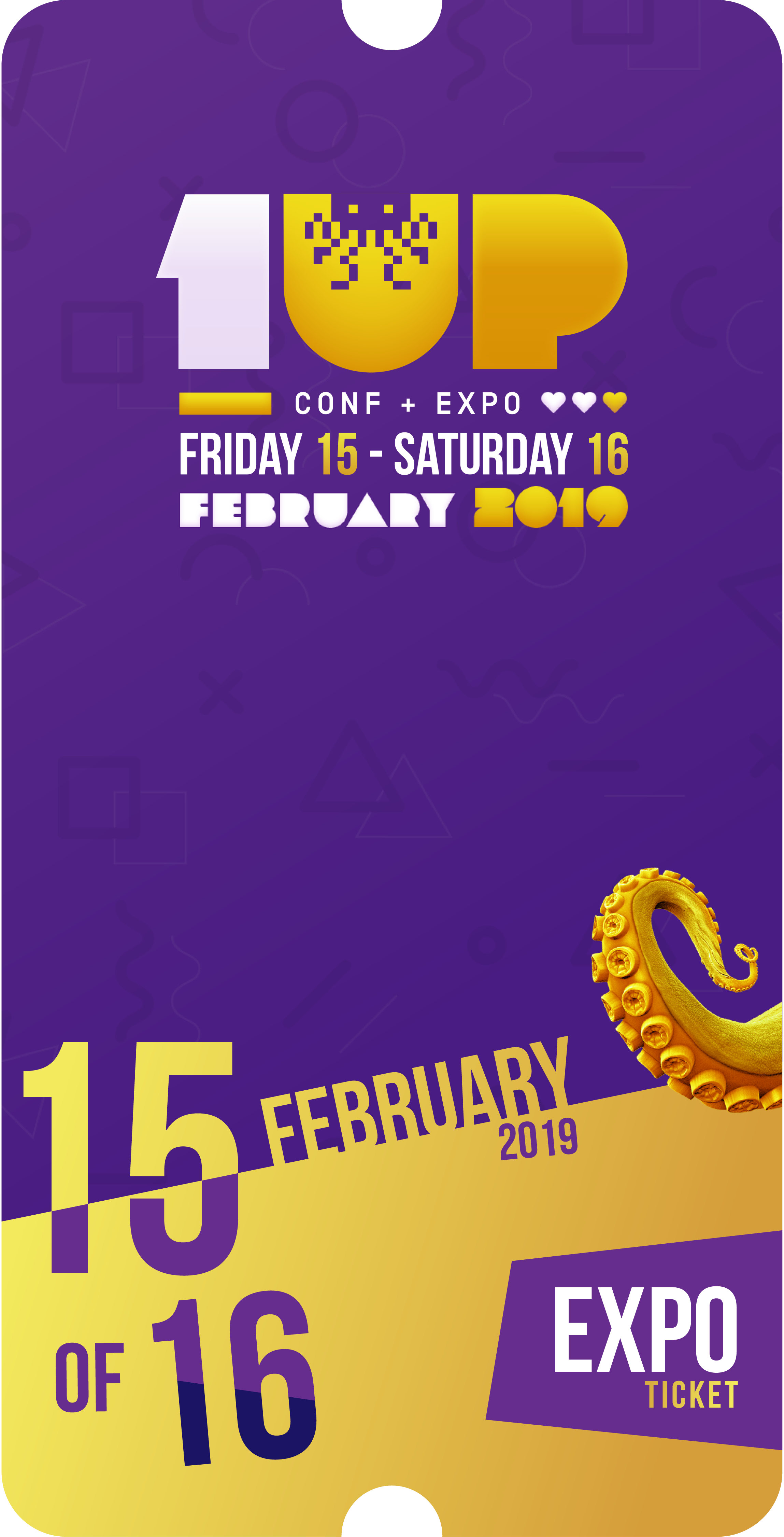 1UP Game Expo (Ticket)