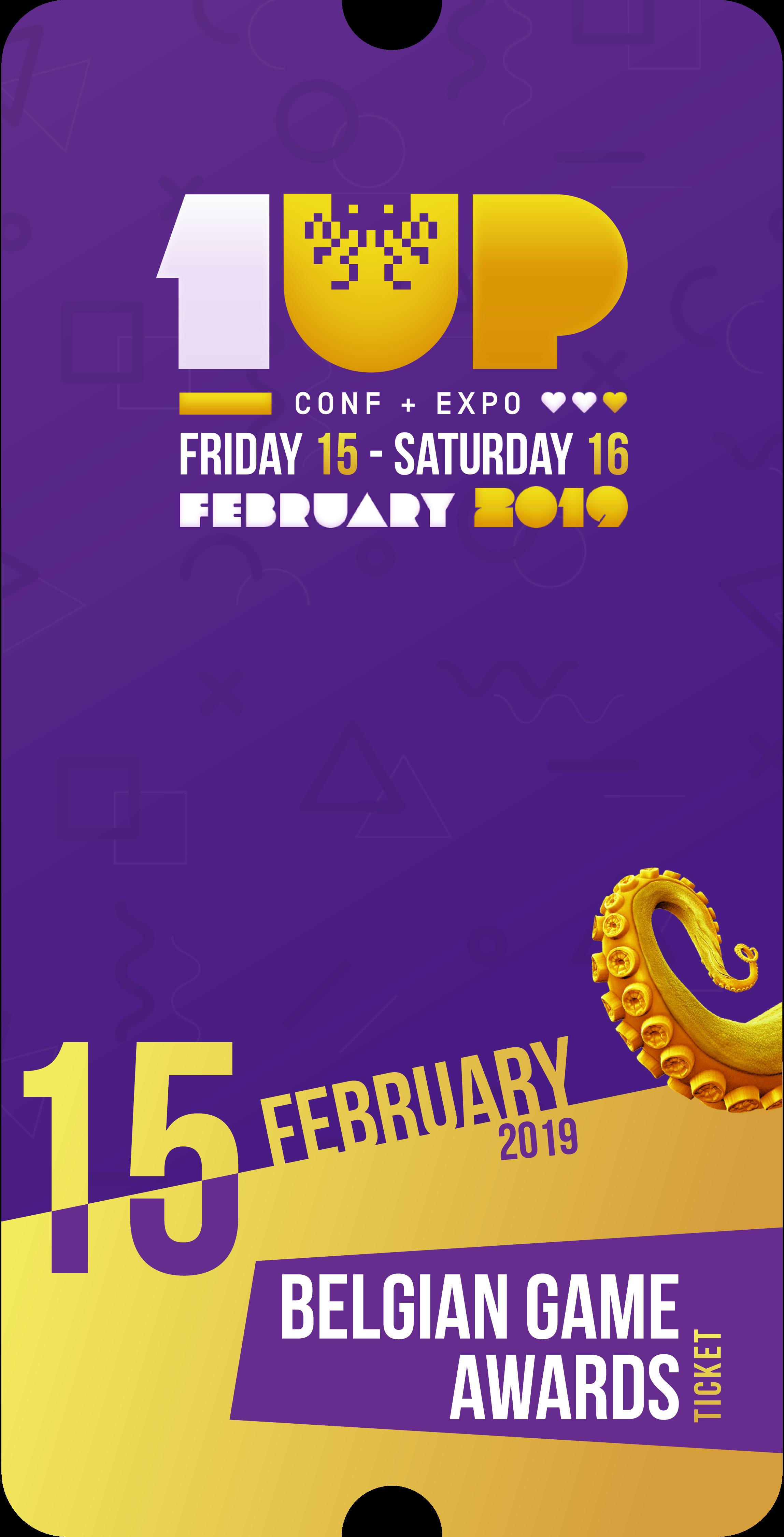 Belgian Game Awards (Ticket)