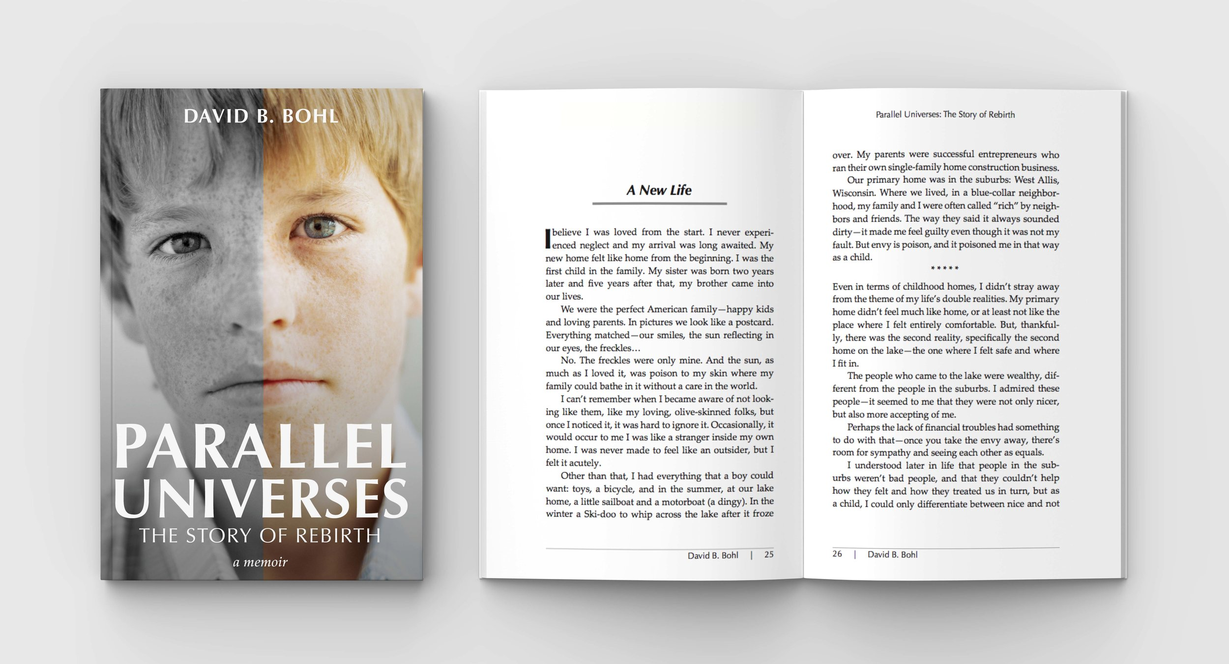 Parallel Universes  Book   Cover Design and Typesetting