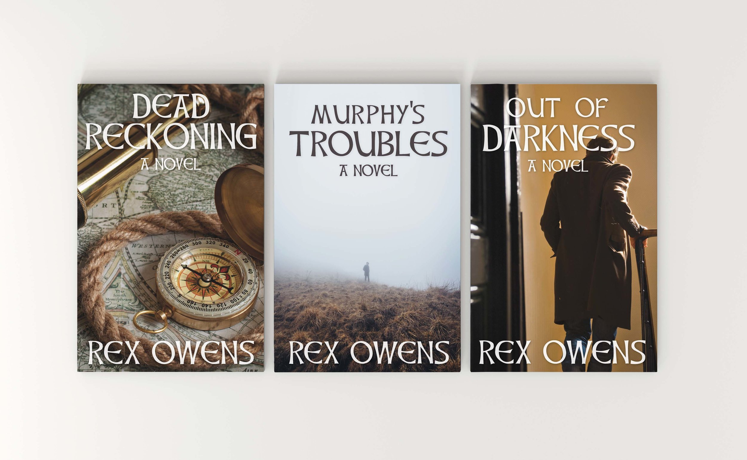 Dead Reckoning  Series   Book Cover Designs