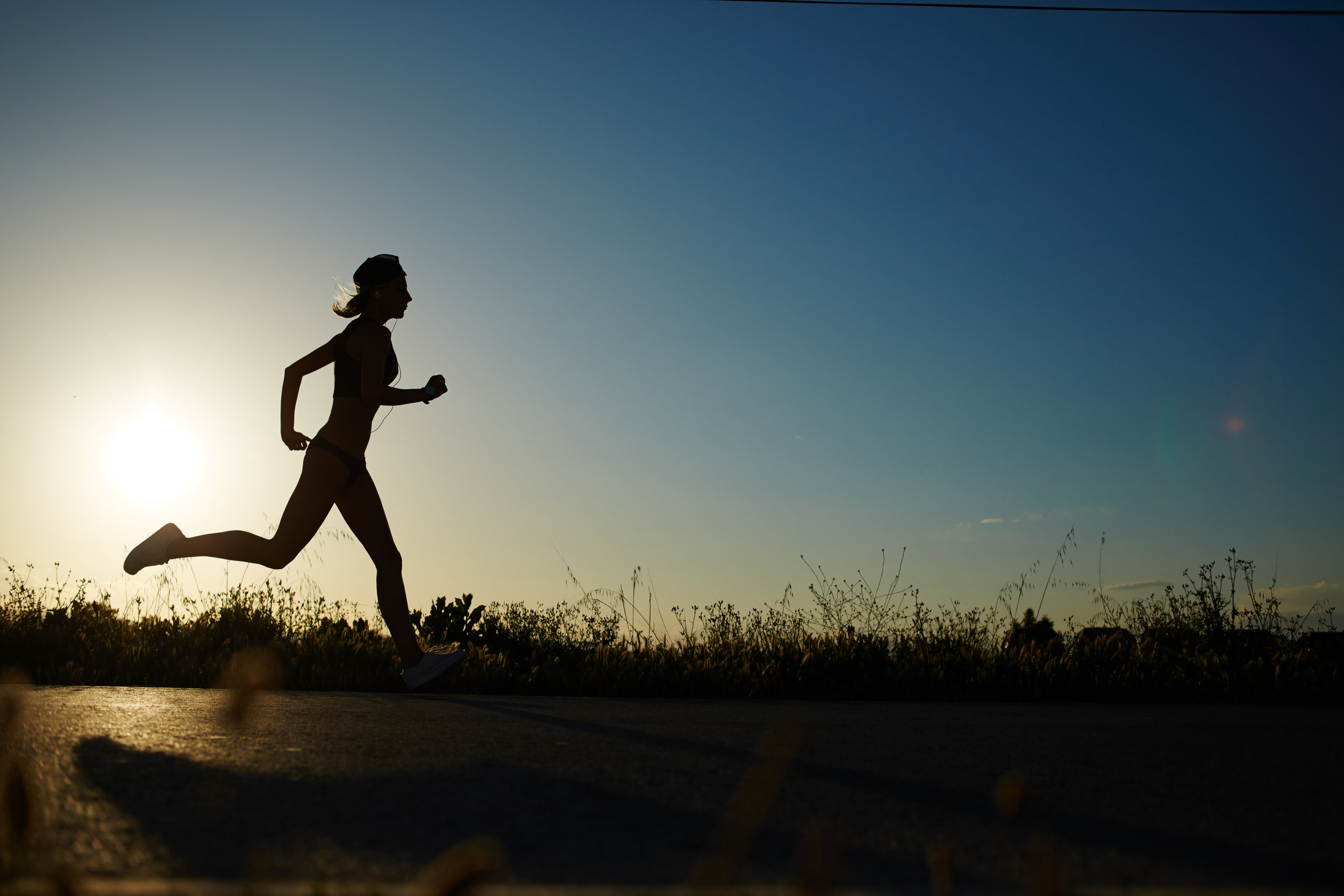 Trail Running Reduces Stress