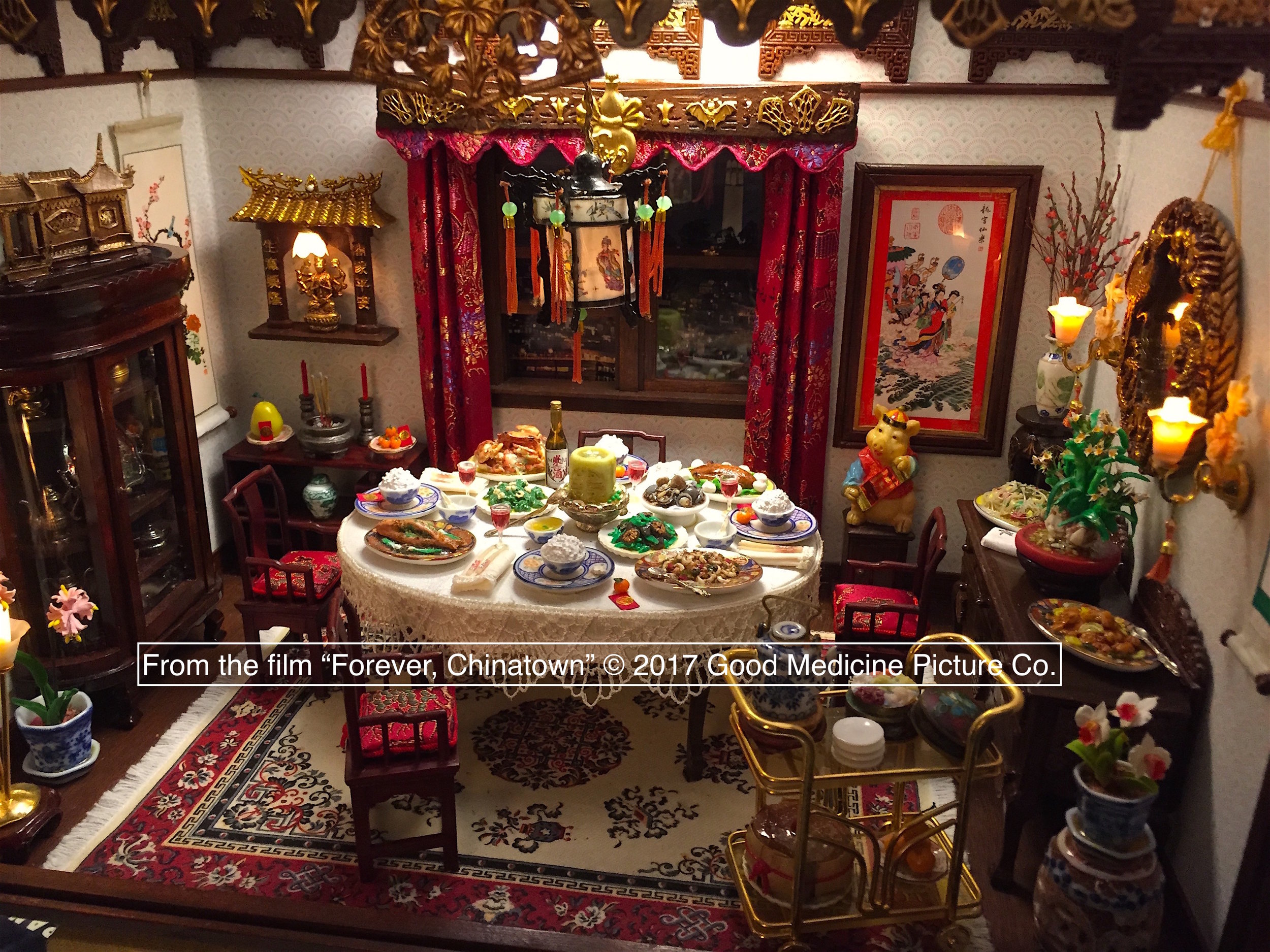 The Dining Room (at Lunar New Year)