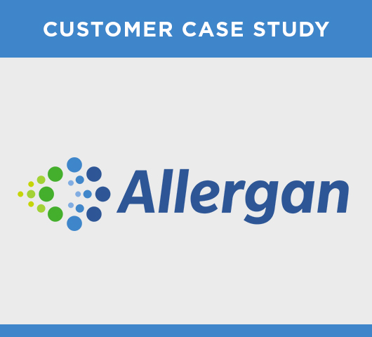 <strong>Allergan eases manual data entry and contract management pains</strong>