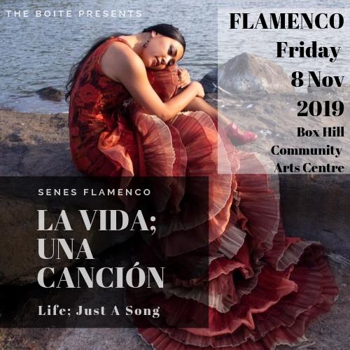 The BOITE PRESENTS: - La Vida; Una Canción.Life; Just a Song.Friday, 8th November 2019Box Hill Community Arts Centrebooking details to come