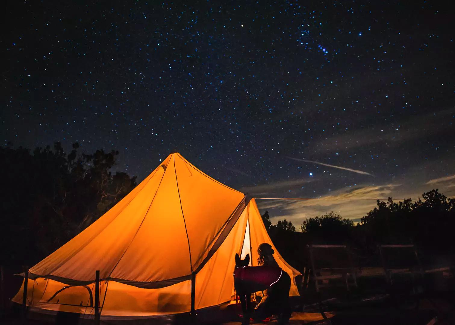 Hike & Camp at Songdog Ranch