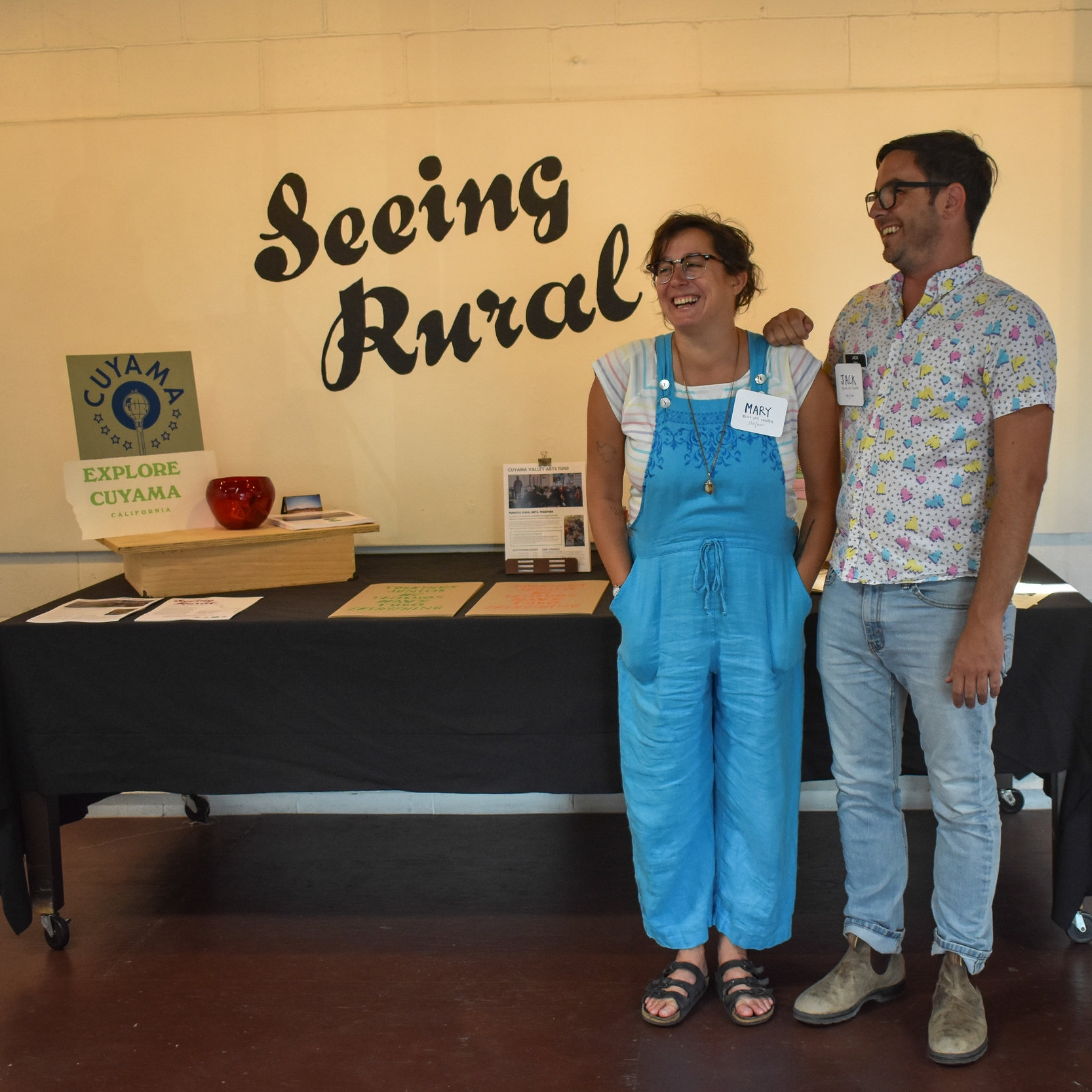 Seeing Rural : Through the Eyes of Visiting Artists in the Cuyama Valley July 26, 2018