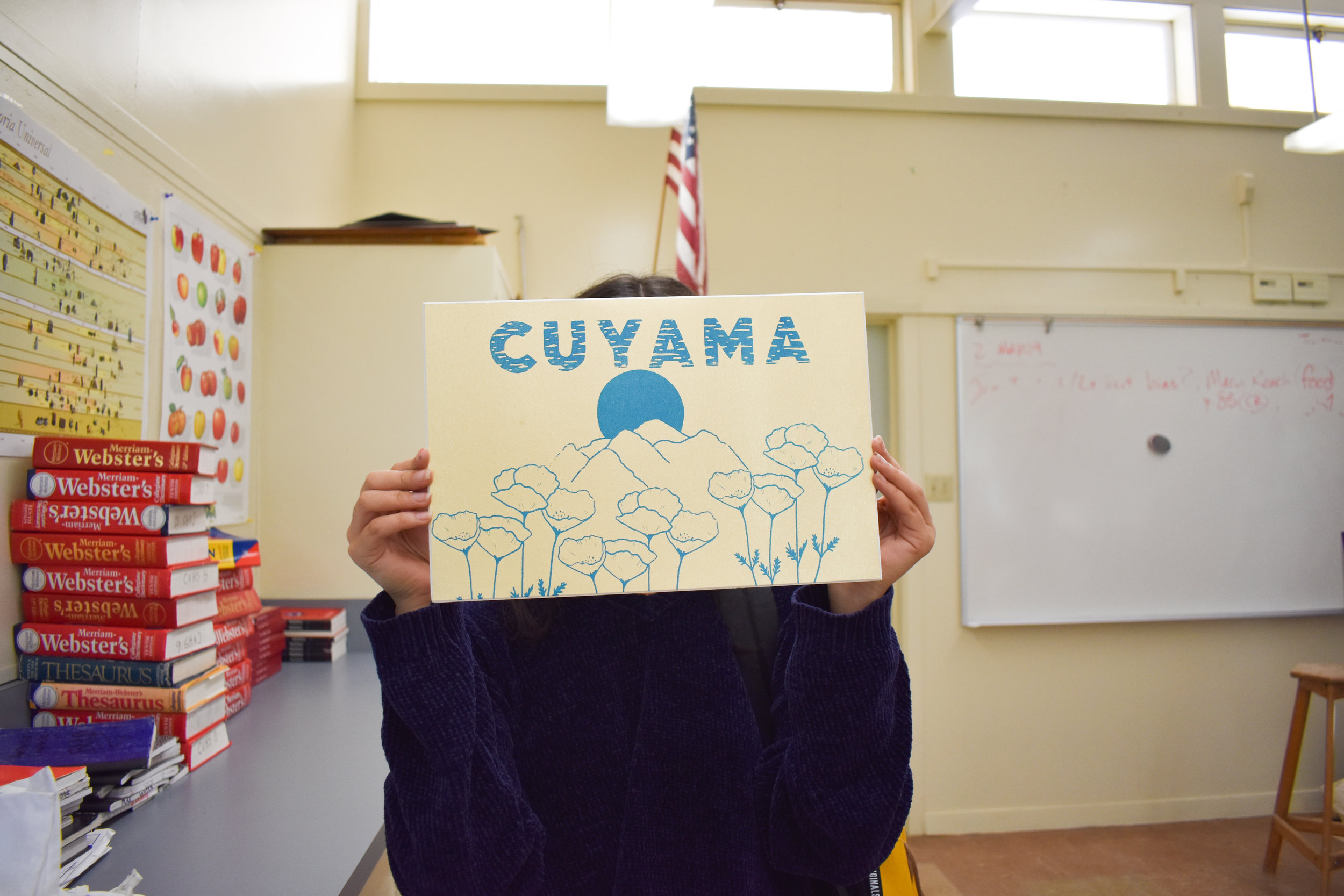 Screenprinting Workshops at Cuyama Valley High