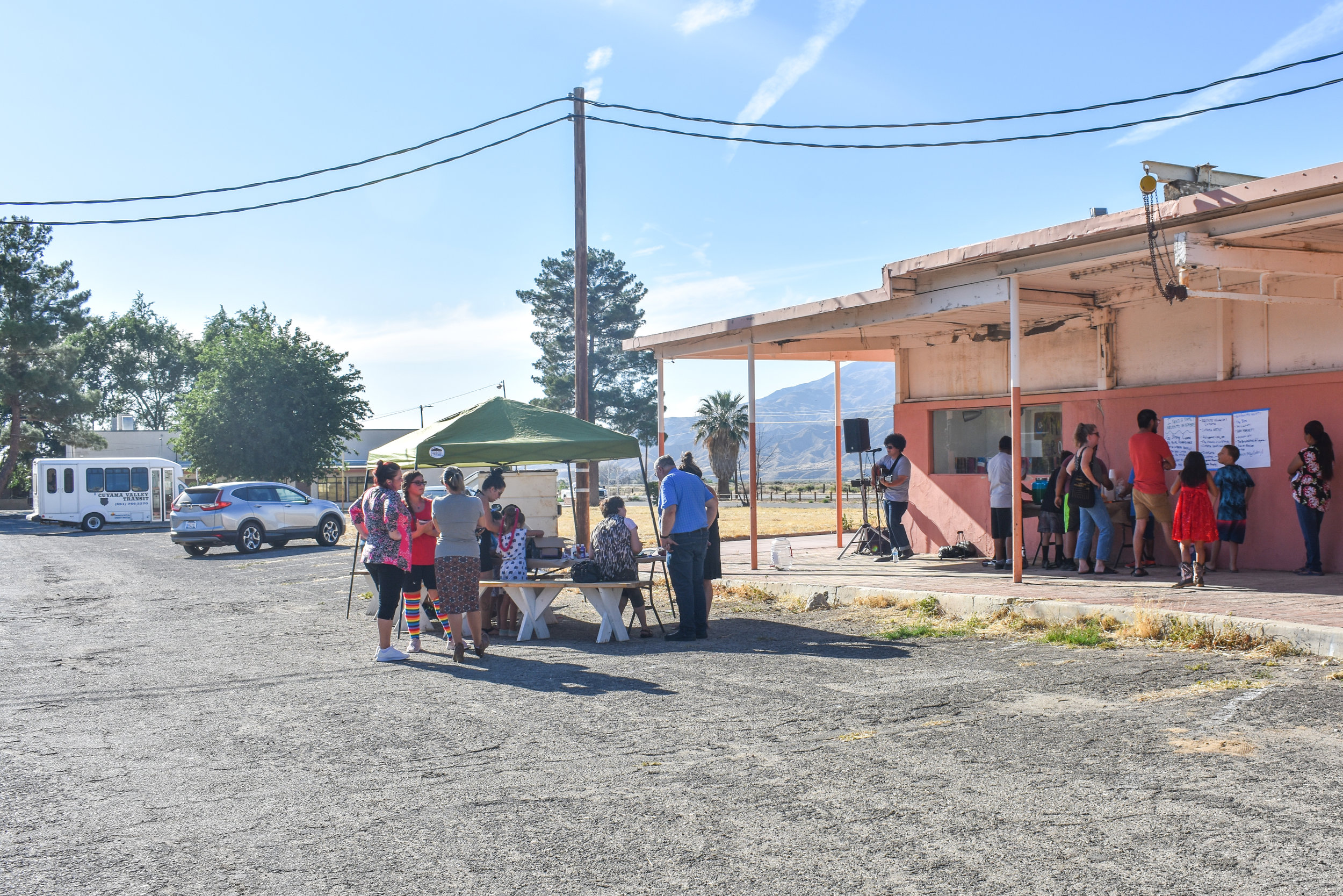 "Wide View of ""Cuyama Cartonera"" Opening Exhibition"