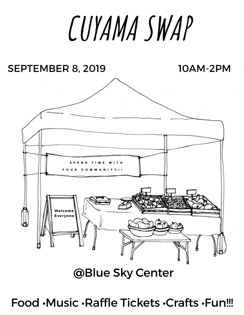 We have fifteen local vendors ranging western jewelry, artisanal crafts, delicious food products made in the Cuyama Valley, and homemade cosmetics! La Cocina Cuyama, a mobile community commercial kitchen, will be serving fresh Mexican dishes and the Blue Sky facility will be bustling with activities for all ages. Come join in the fun and support our high desert craftsmen and entrepreneurs!