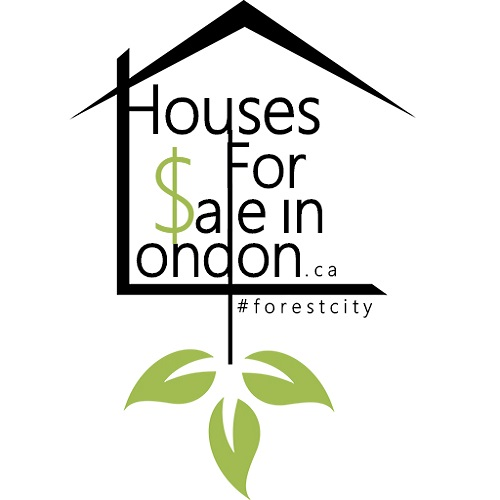 Houses For Sale In London.ca Logo With Hashtag - squared 500x500.jpg