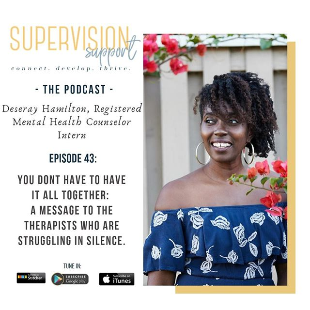[NEW PODCAST] This week is a special one. It's dedicated to the Therapists Who are Silently Struggling... You Don't Have to have it All Together! Profession and training doesn't exempt you from making mistakes. It doesn't shield you from your bias, it doesn't shield you from judgments, it doesn't shield you from finding yourself in an awful position in life. And if you're in need of help, I urge you to seek it. You are as deserving of help as your client! If you know someone who need a little encouragement... TAG THEM TO THIS POST! Podcast is Live on the site and on Apple Podcast or wherever you tune in to listen. 🎙️ *Remember to leave a review!