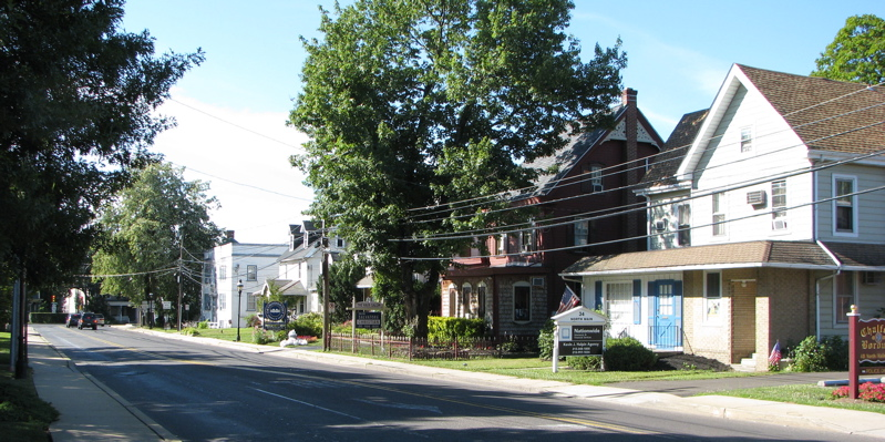 Main Street: Chalfont, PA.