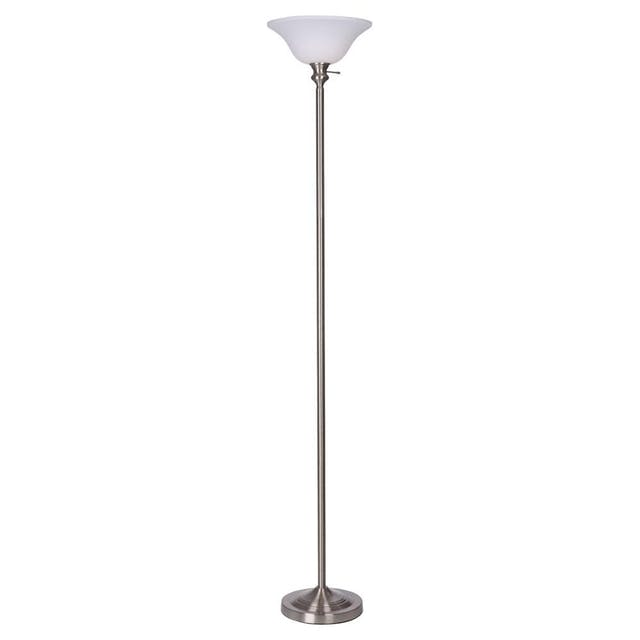 (Image credit: Home Depot )   Floor Lamp  : $29.97  Still unsure about your lighting design plans? Grab this affordable floor lamp to keep your rooms brightly lit until you've made up your mind.