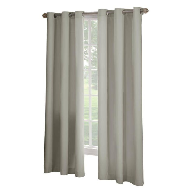 (Image credit: Home Depot )   Curtains  : $29.97  Life inside your new home may be wonderful, but you might not want everyone outside to see it quite yet. Add these faux-linen curtains, which still let natural light shine through but offer the option of privacy when you want it.