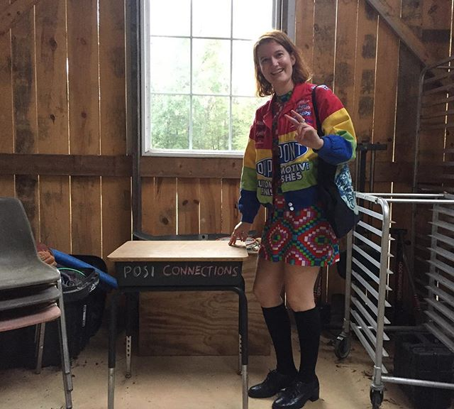 Important non-plant related post, my friend Anne, the farm party DJ