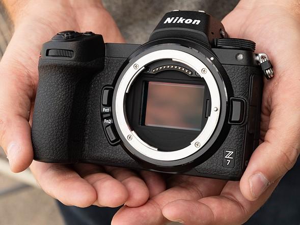 Nikon Z7. 45.7 MP Full Frame BSI Sensor.