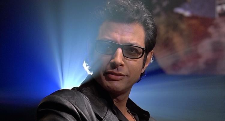 Jeff Goldblum portrayed Ian Malcolm in Jurassic Park