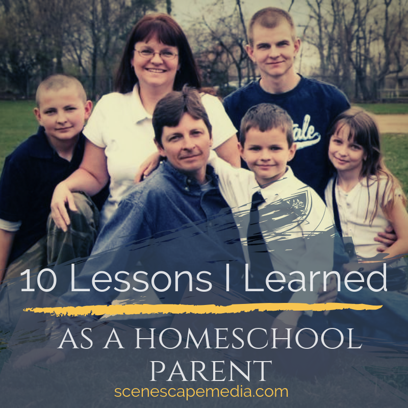 10 Lessons I Learned as a Homeschool Parent; Raber Family photo 2008