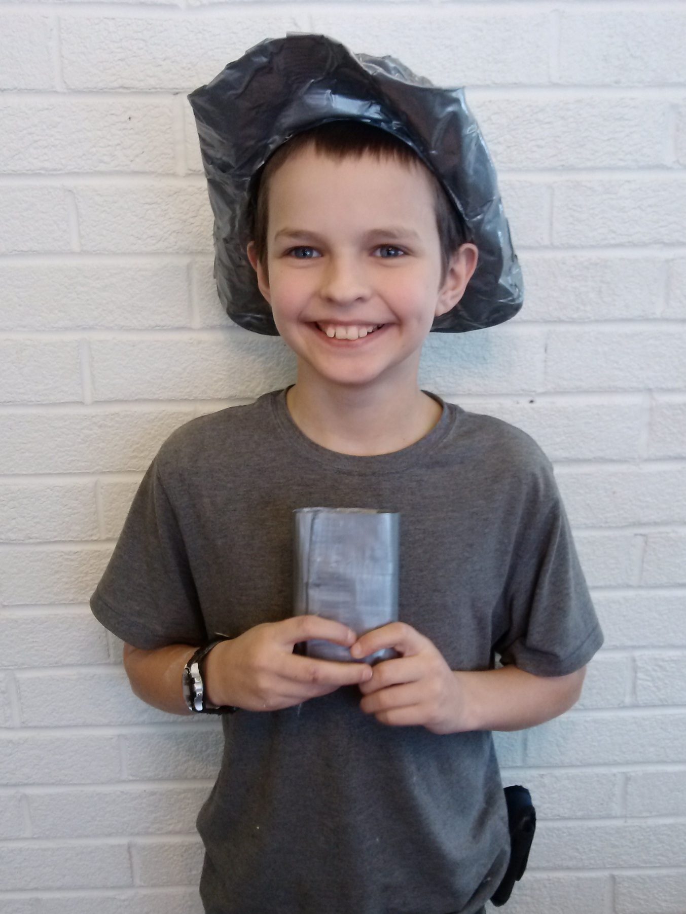 The time Kenny made a duct tape hat and matching wallet