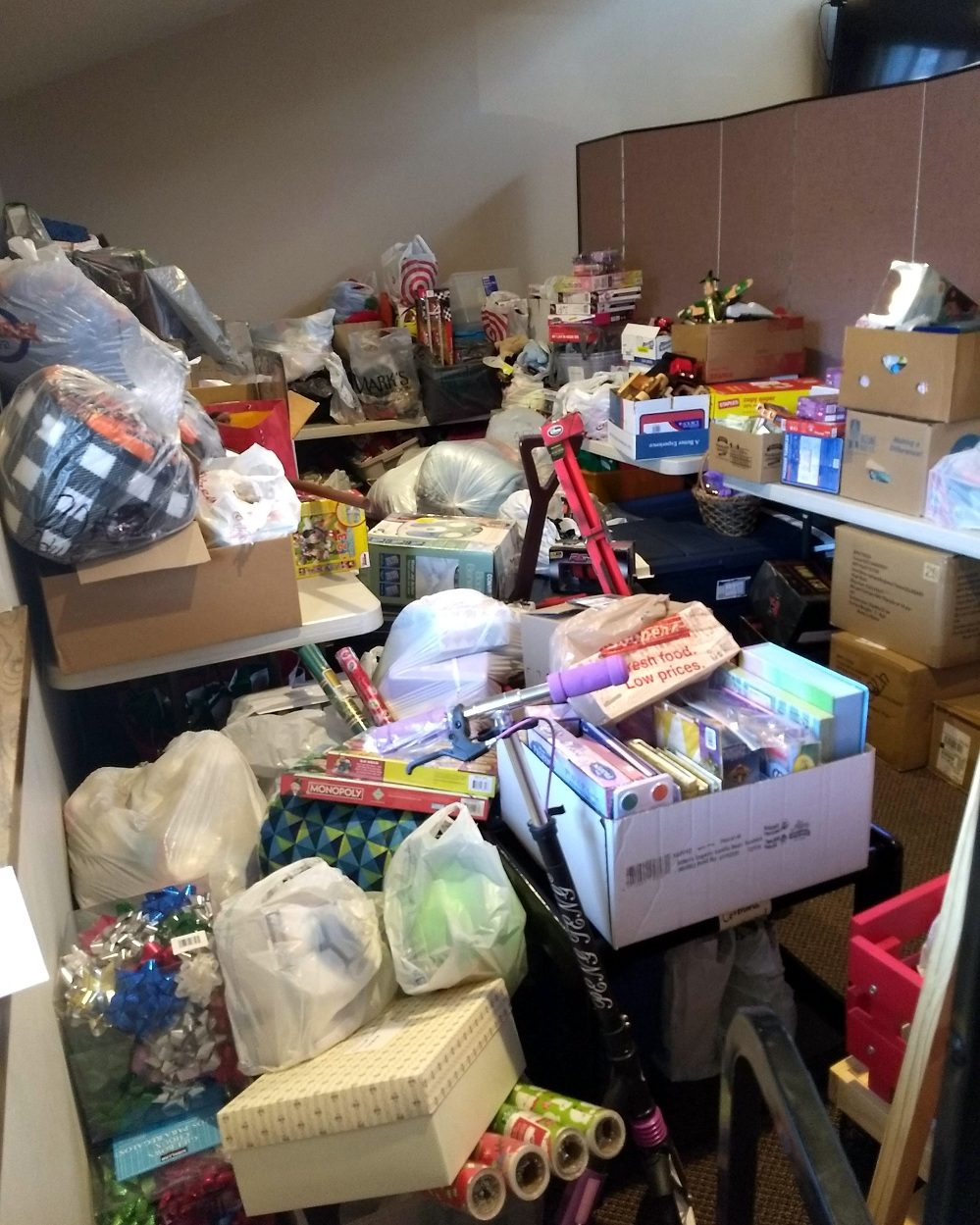 Covenant Cupboard Toy Drive