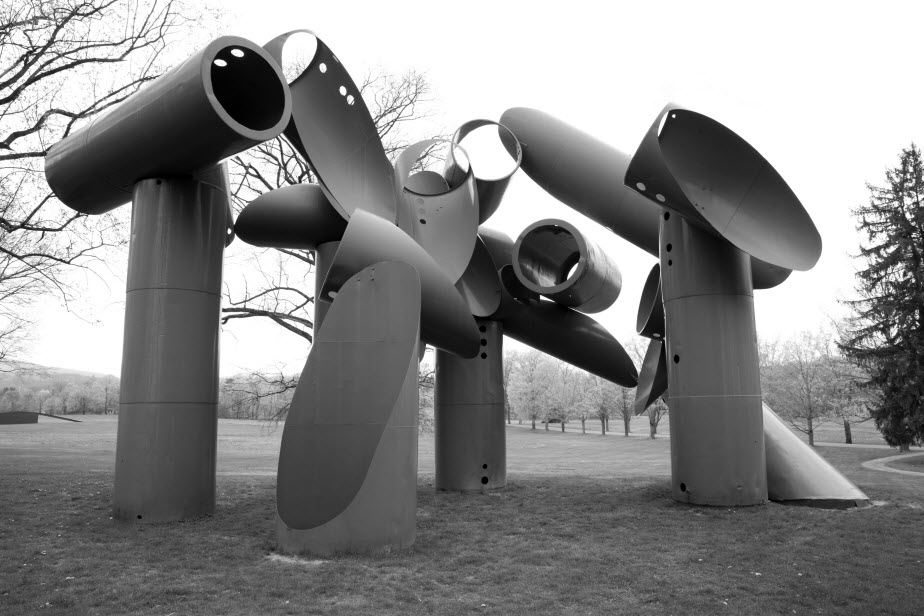 Storm King sculpture park, NY