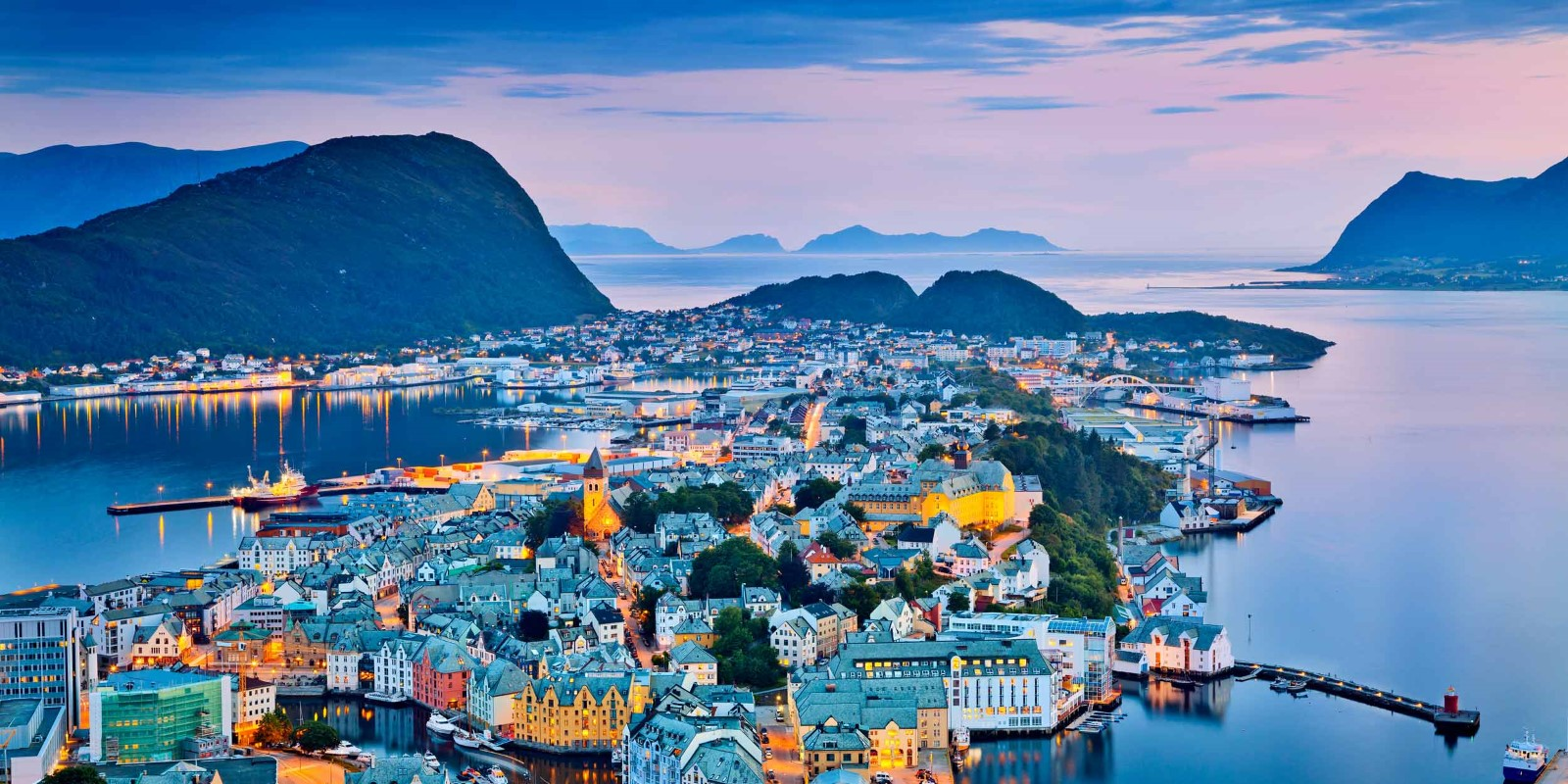 The ports of Norway