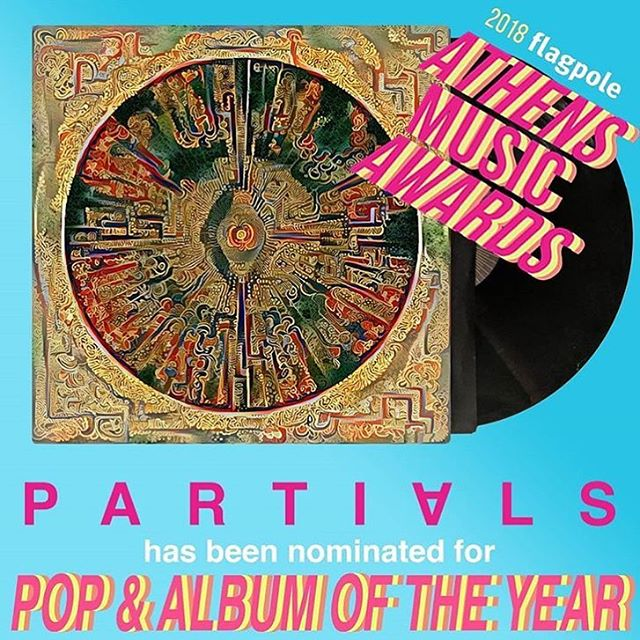 Athens, local elections might be over for now, but you can still get the vote out for @partials_music in the @flagpolemusic awards!