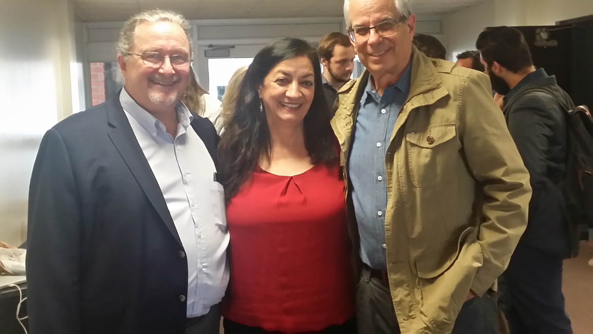 With John Kennedy and Satik Andriessian