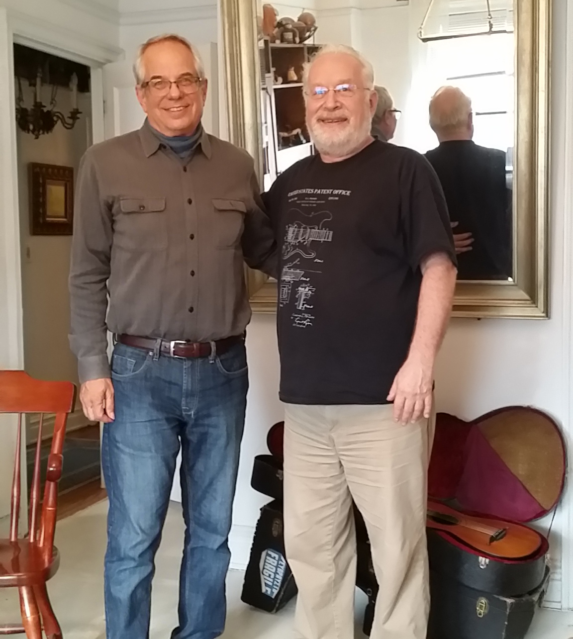 With Jerry Willard in New York City