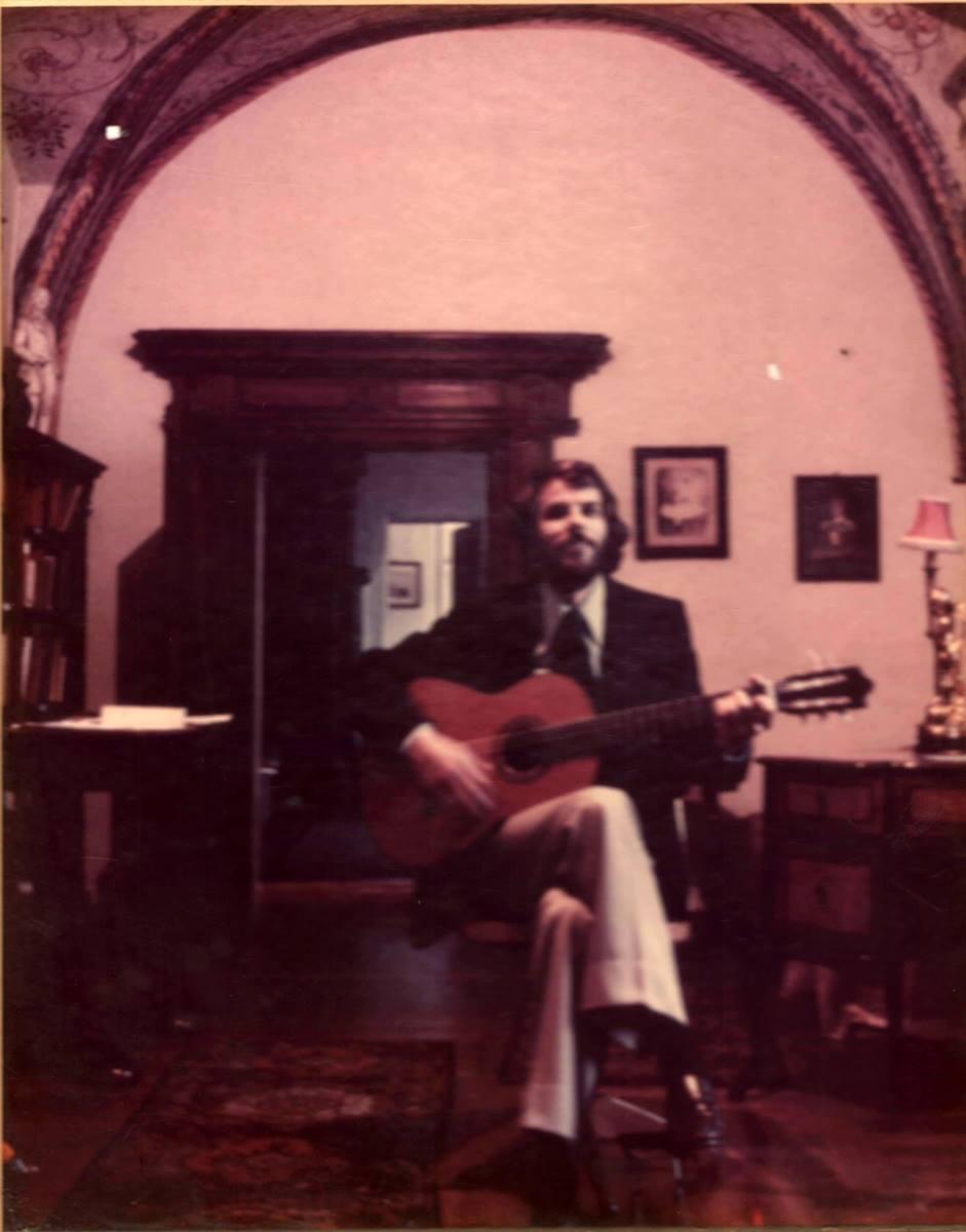 Jeffrey Goodman in Vienna 1978