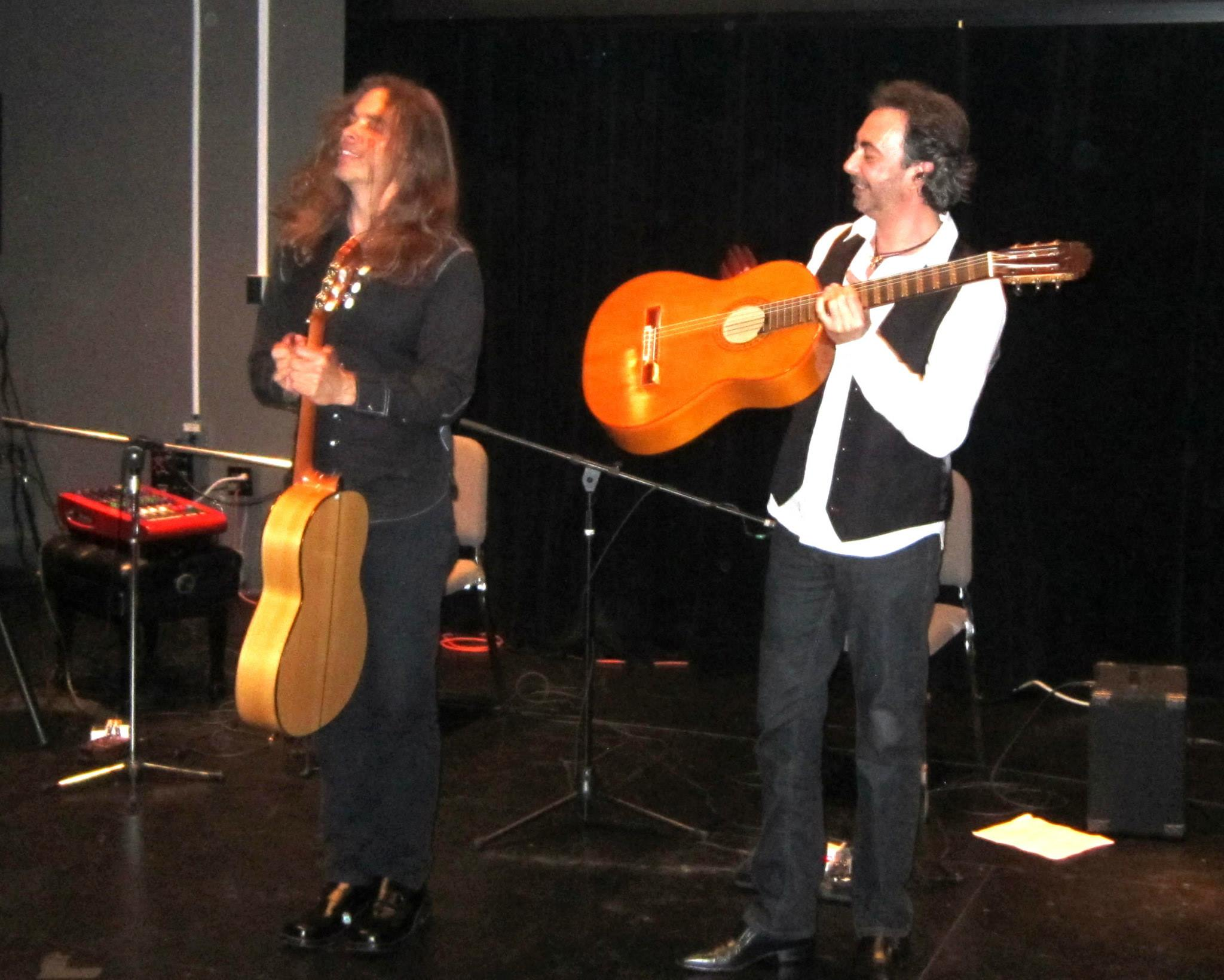 Corey Whitehead & Jose Antonio Rodriguez in concert