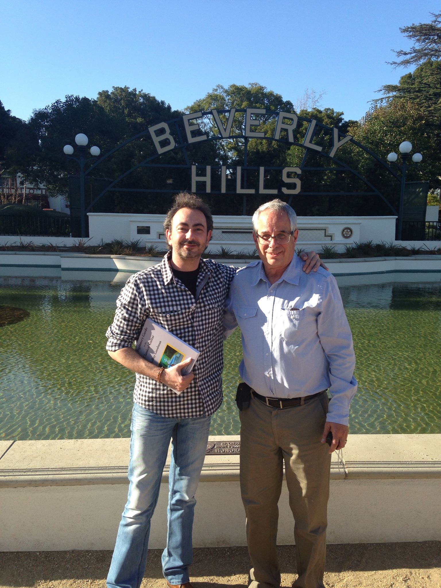 Jose Antonio Rodriguez in Beverly Hills