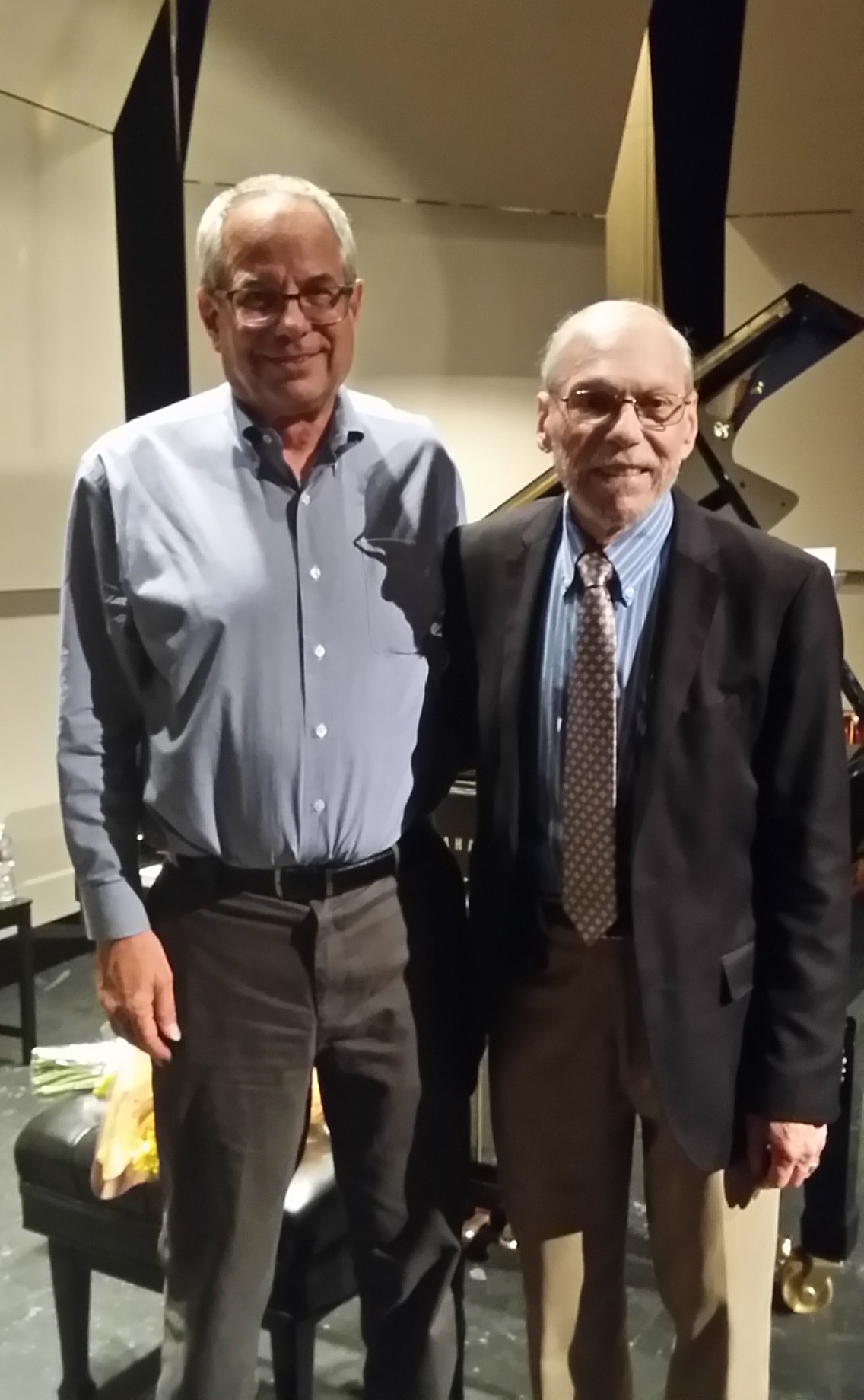 With Richard Grayson in Los Angeles