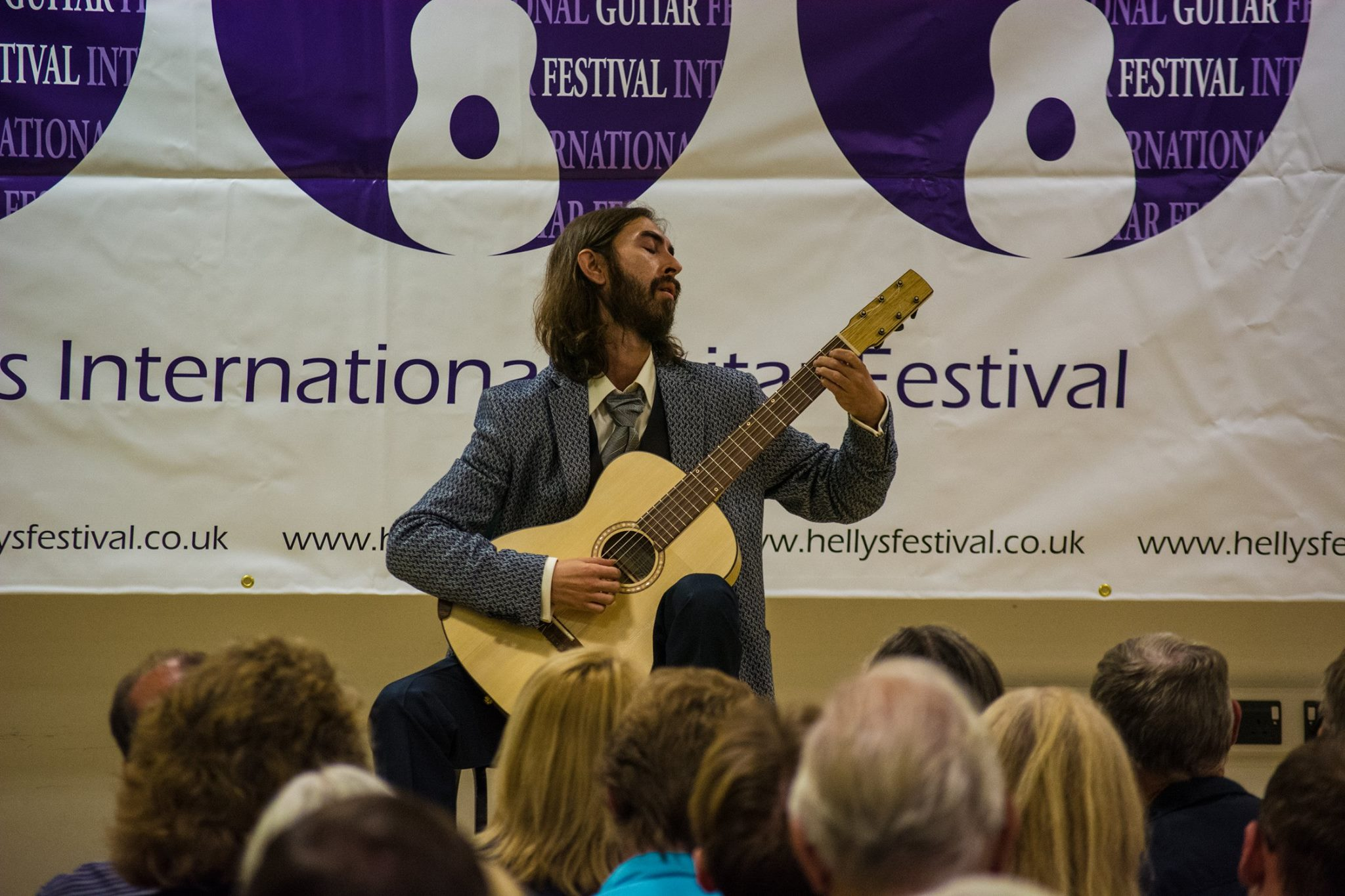 Pablo Rodriguez at Hellys Guitar Festival