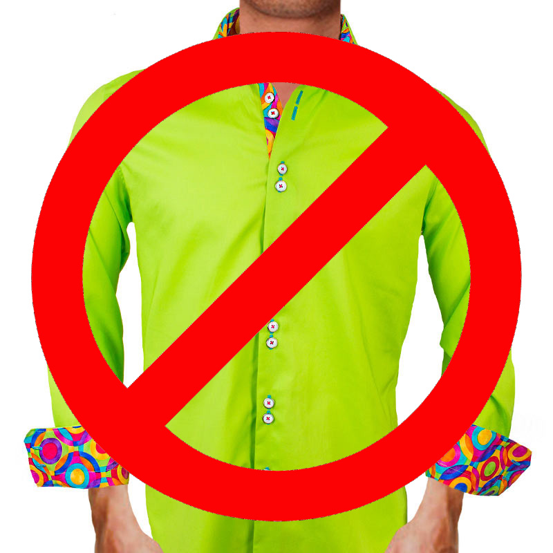 Bright Green no no