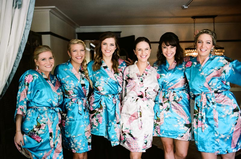 floral robes for magazine worthy getting ready photos