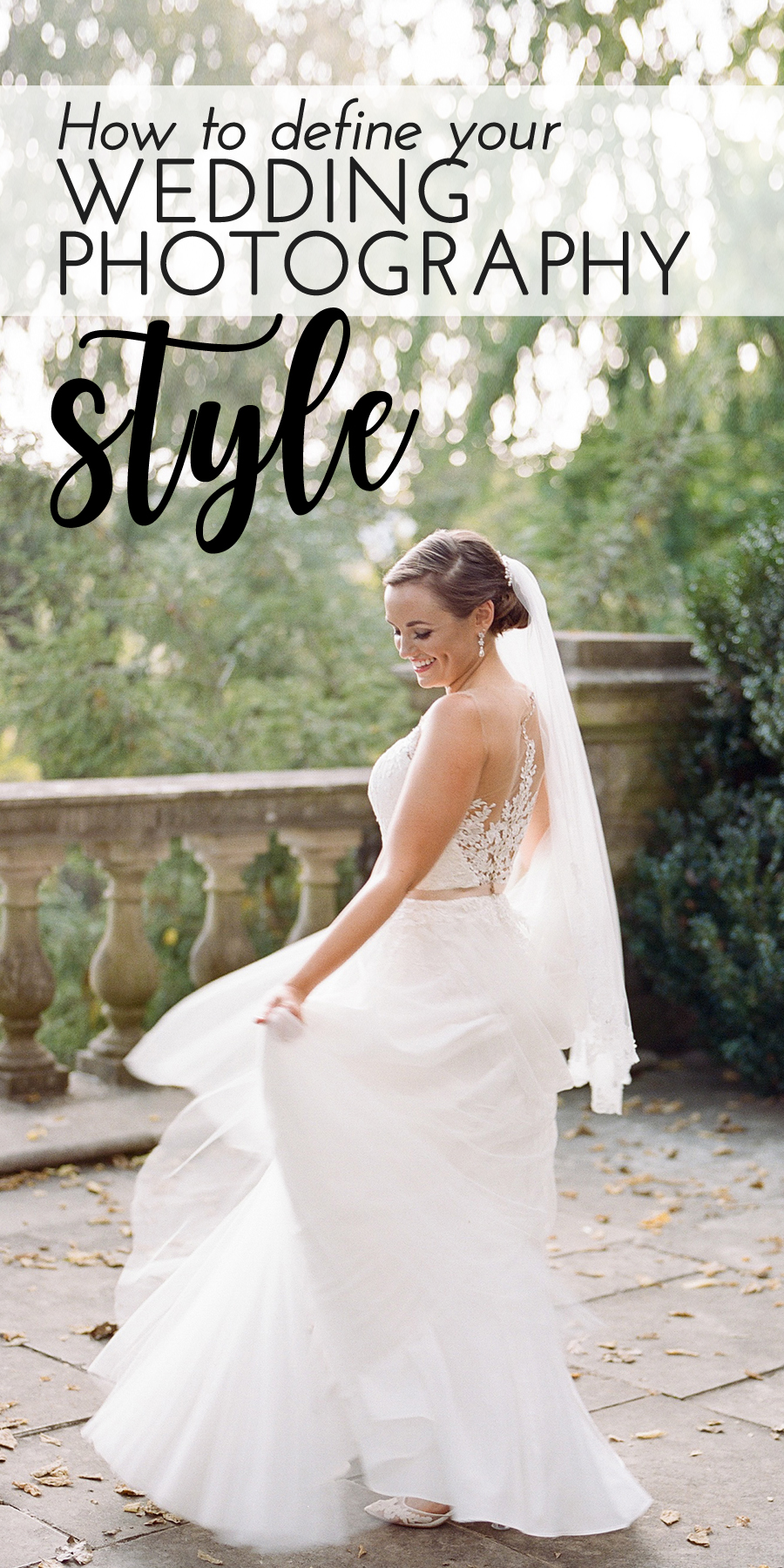 How to define your wedding photography style