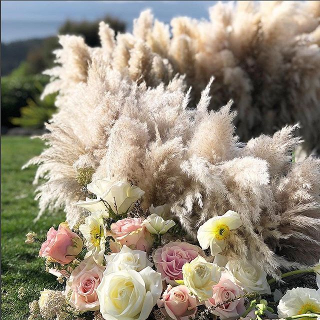 FLOWER POWER! This is an amazing ceremony centre piece created by florist @susanna_todd in New Zealand. 🌻🌼🌸💐🌷🥀🌺🍃🌿 . . . . . #flowerpower #flowers #florist #floralartist #weddingflowers #weddingceremony #weddinginspo #bride #bridal #bridalbeauty #bridetobe #bridalmakeup #bridalhair #makeupartist #newzeland #unitedkingdom #australia #kalonartists