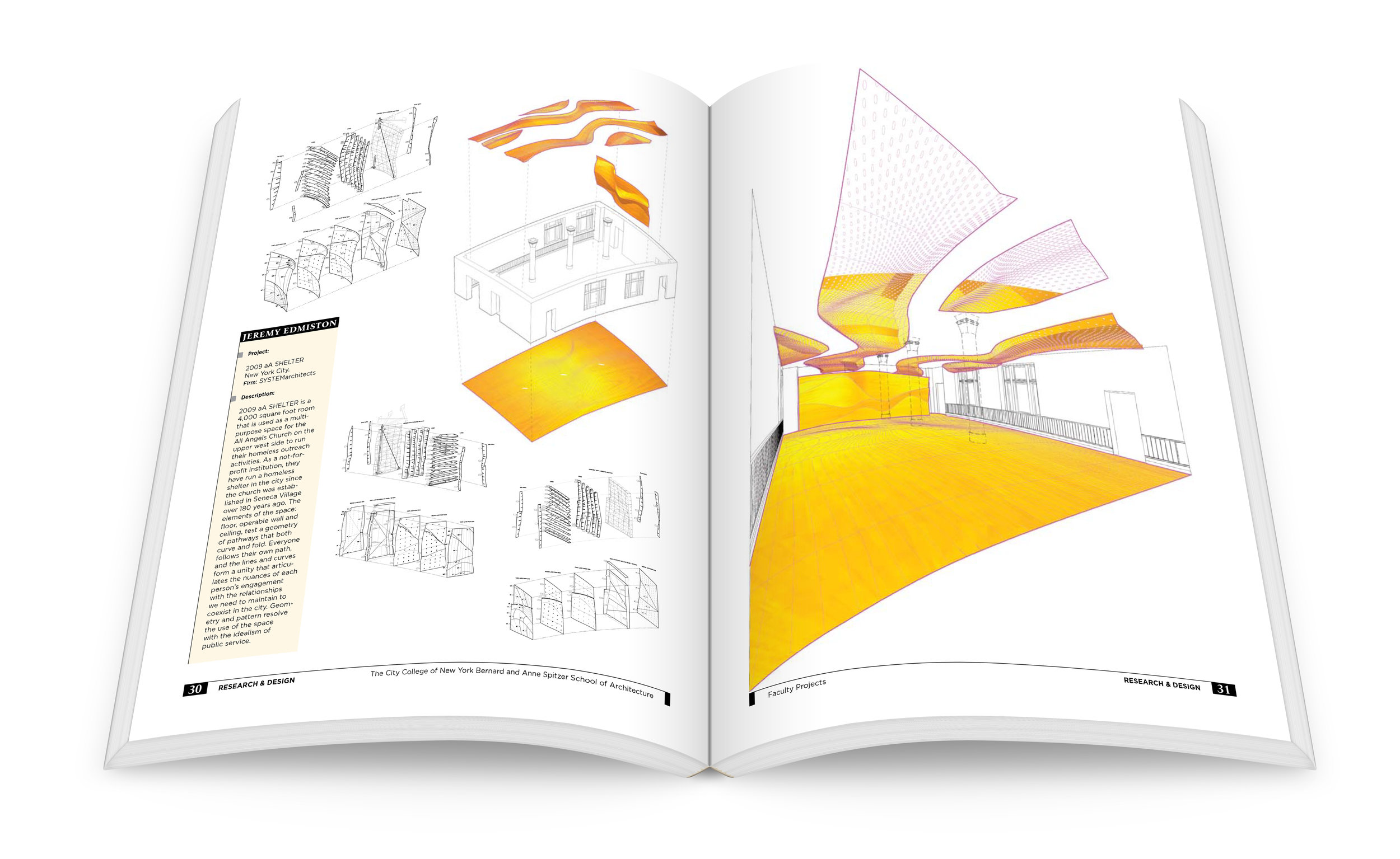 Research & Design. The City College of New York, Bernard and Anne Spitzer School of Architecture.