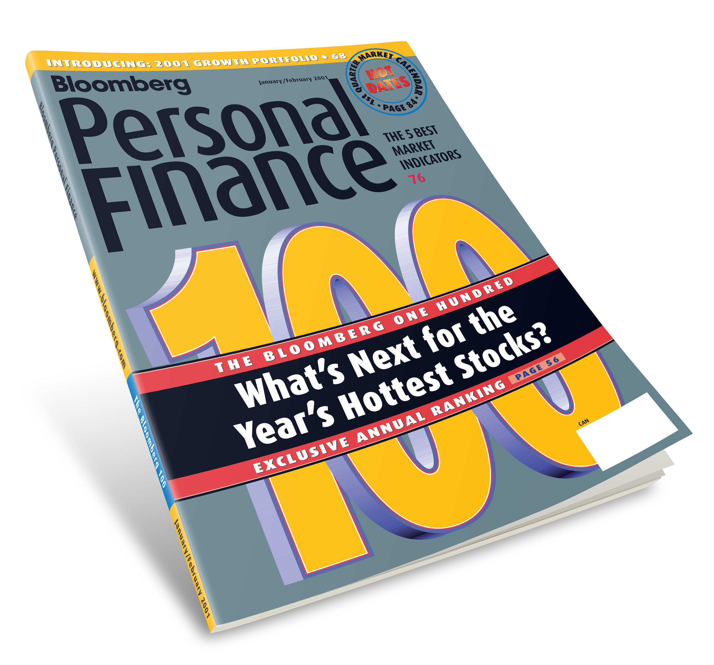 Bloomberg Personal Finance Logo/Cover redesign