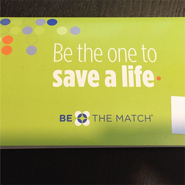 I'm excited to have received my cheek swab to be apart of @bethematch . It's very easy to register to be apart of @bethematch and help those who need a bone marrow transplant. My dad is one of those in need. As all of us kids are adopted we can't help. Please go to the @bethematch website and order a kit. Please pass on, is so easy to help others! #bethematch #mds #bonemarrowtransplant