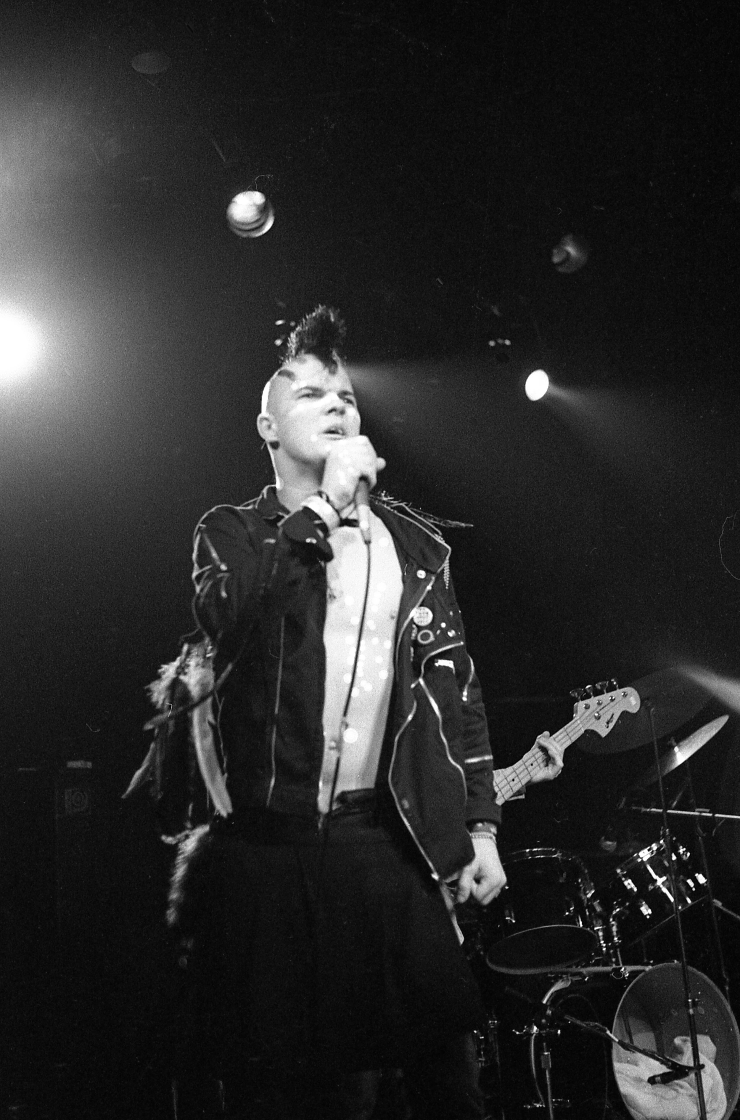 "Darby Crash   ""Darby Crash's last show at the Starwood, 1980."""