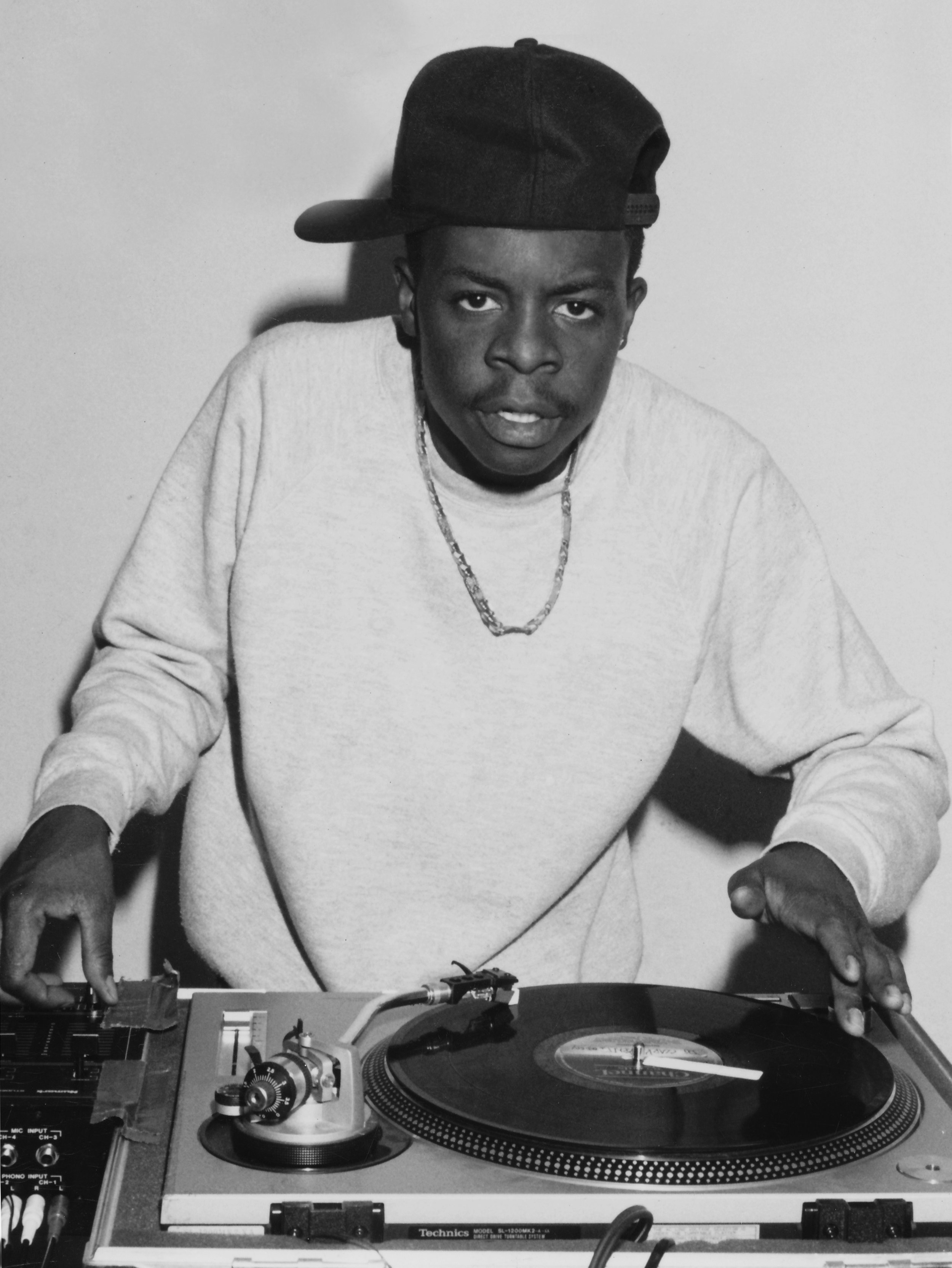 DJ ALADDIN - February 1990, he was literally performing in his apartment in Hollywood while I was shooting.