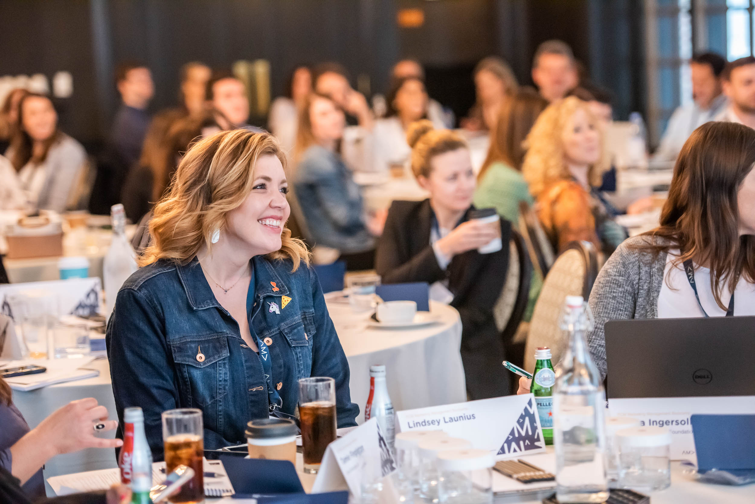BOOT CAMP - We photographed AMA's 2019 one-day boot camp on messaging, branding and working within a budget.