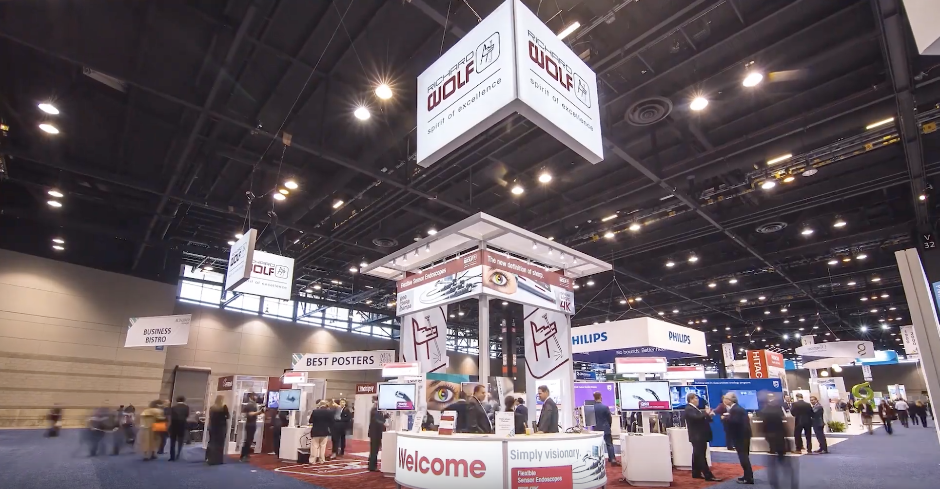 CONVENTION HIGHLIGHT VIDEO - MCP documented Richard Wolf's visionary booth at the McCormick Place Convention Center.