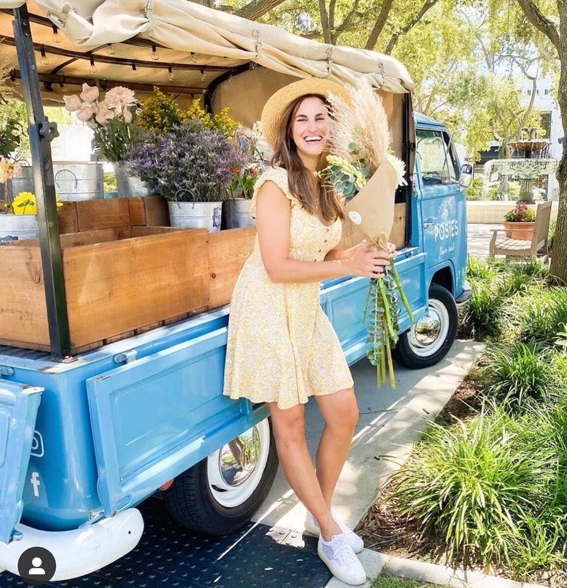 Tampa Collection POSIES FLOWER TRUCK