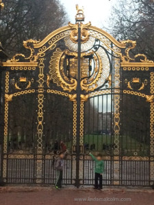 Gates in Green Park