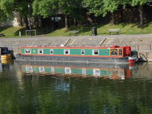 Barge in Bath
