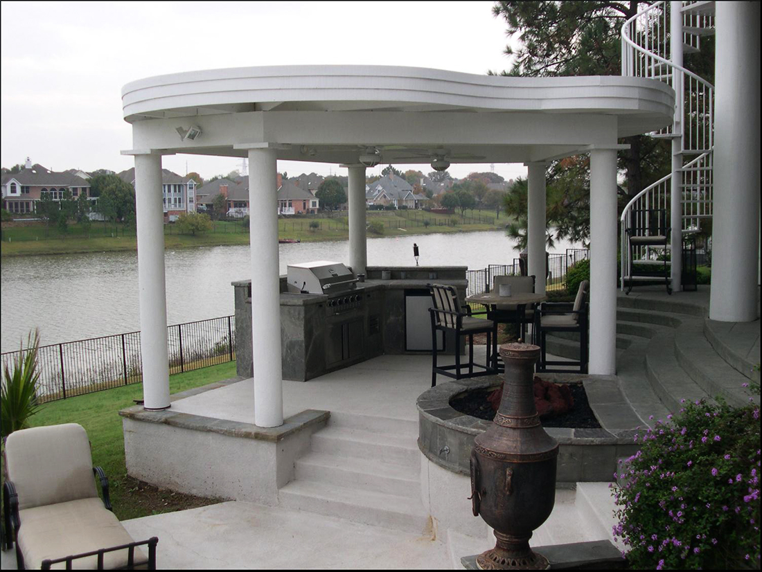 BMR pool and patio covered white pillars arbor.jpg